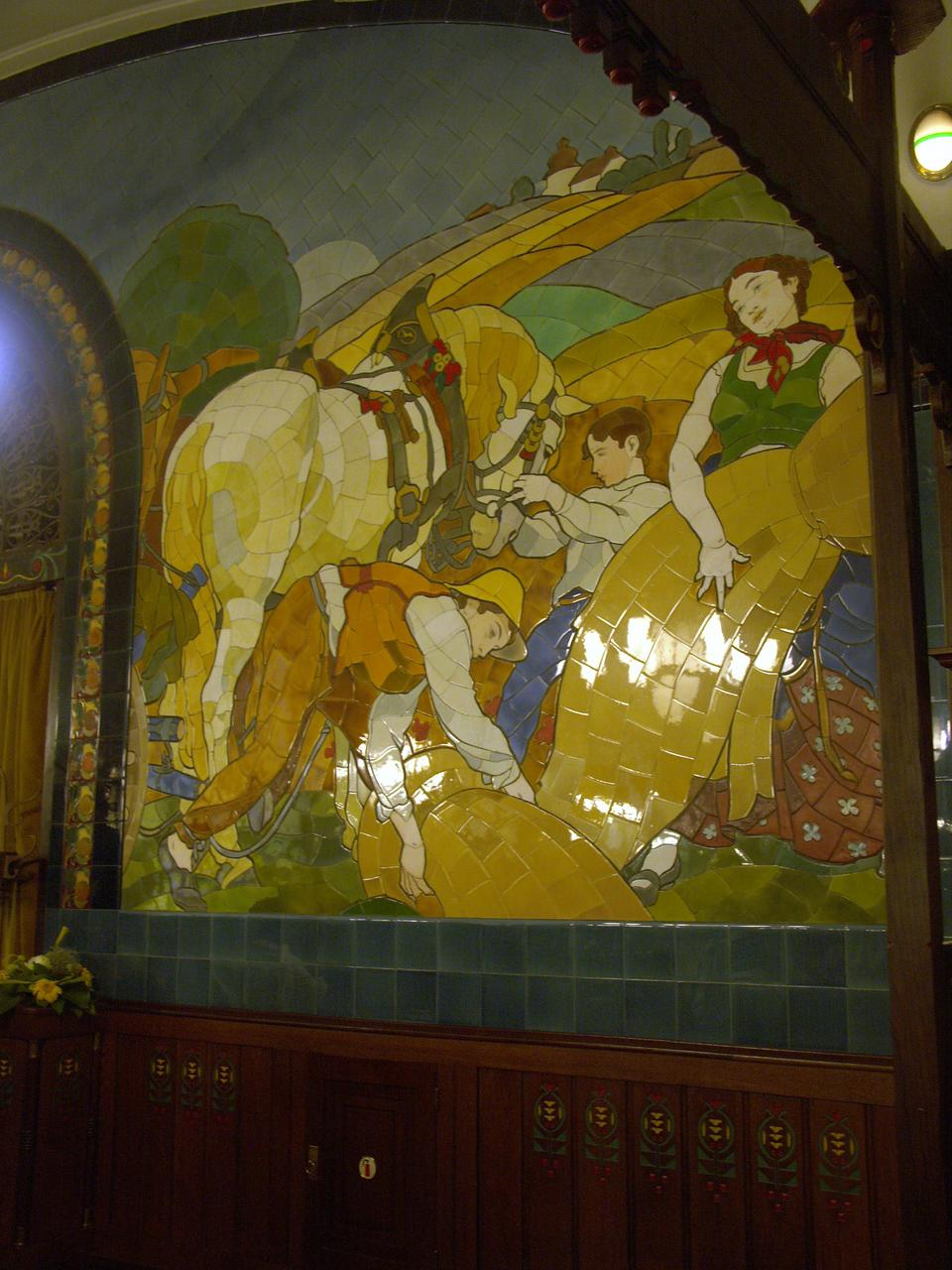 Images for Art nouveau mural